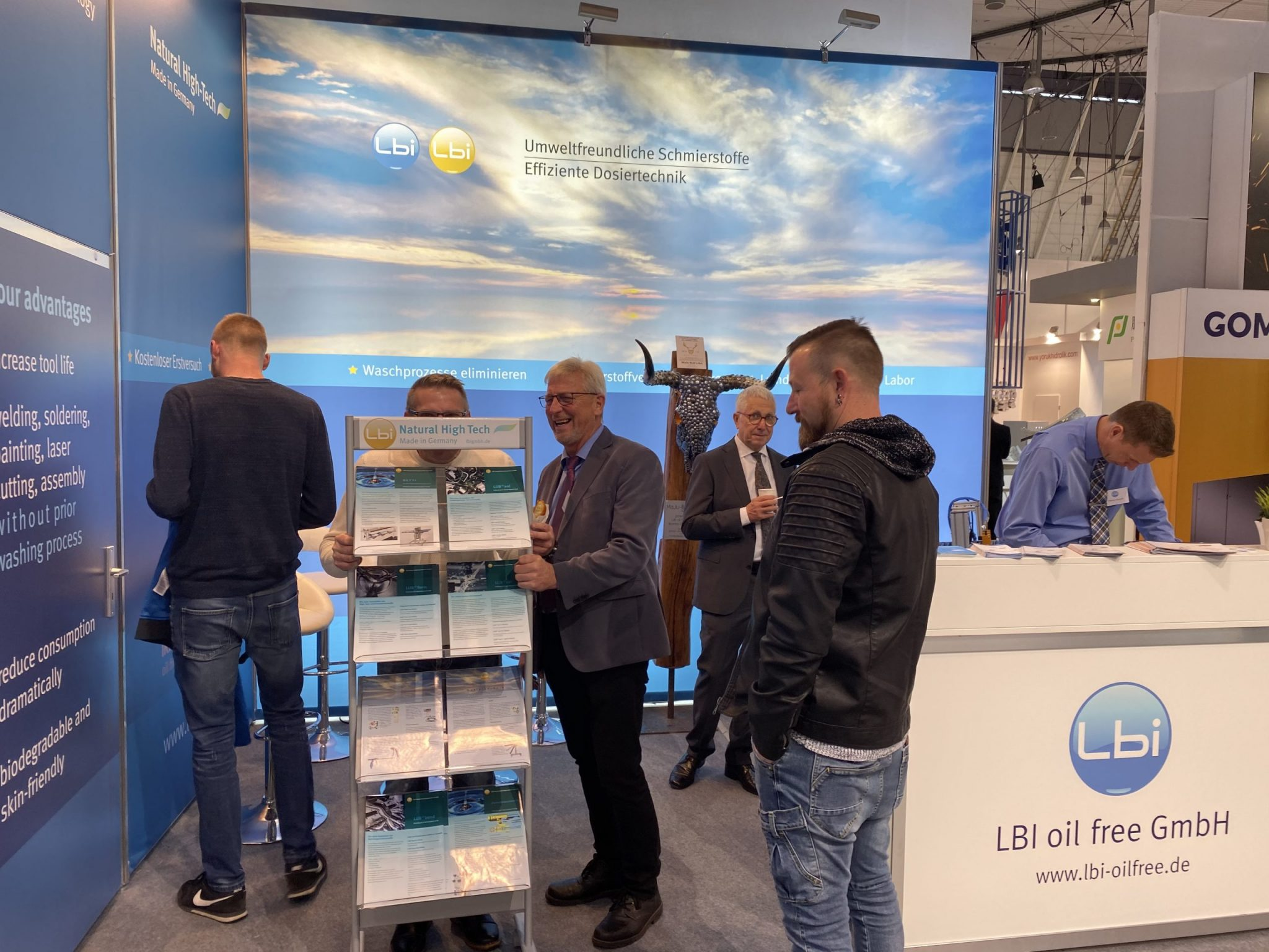 Foto Stand LBI Blechexpo 2019